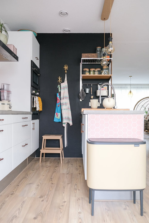 schoolbordverf keuken