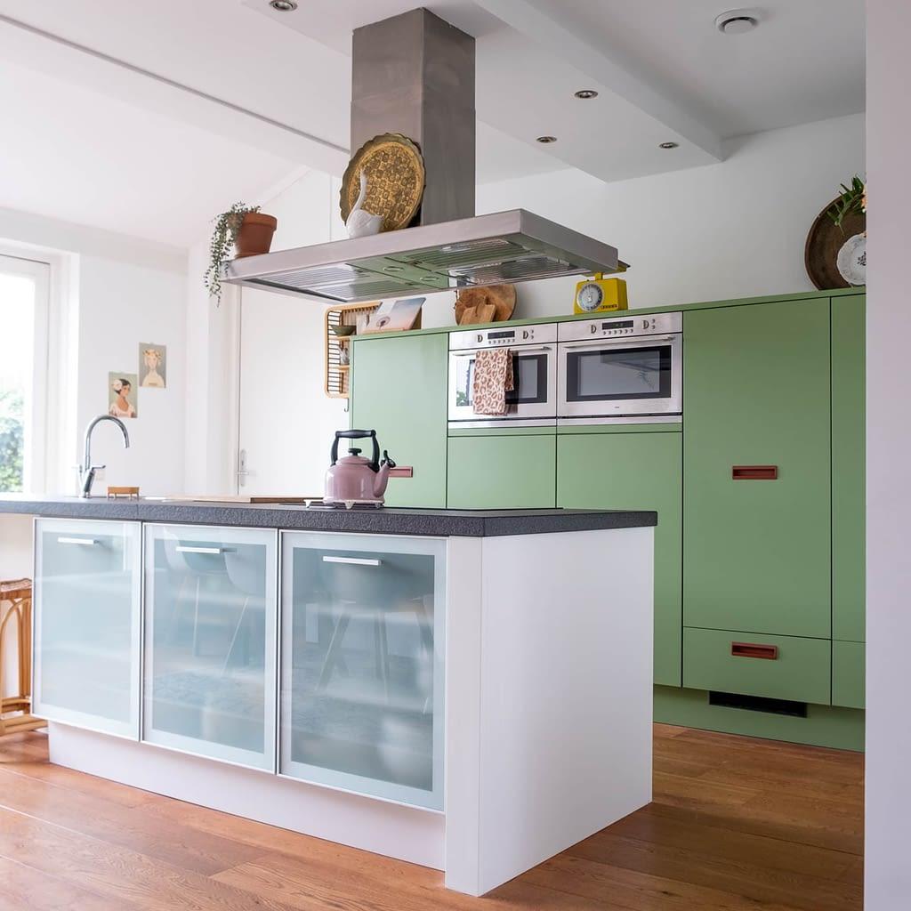 groene keuken 85% salie flexa