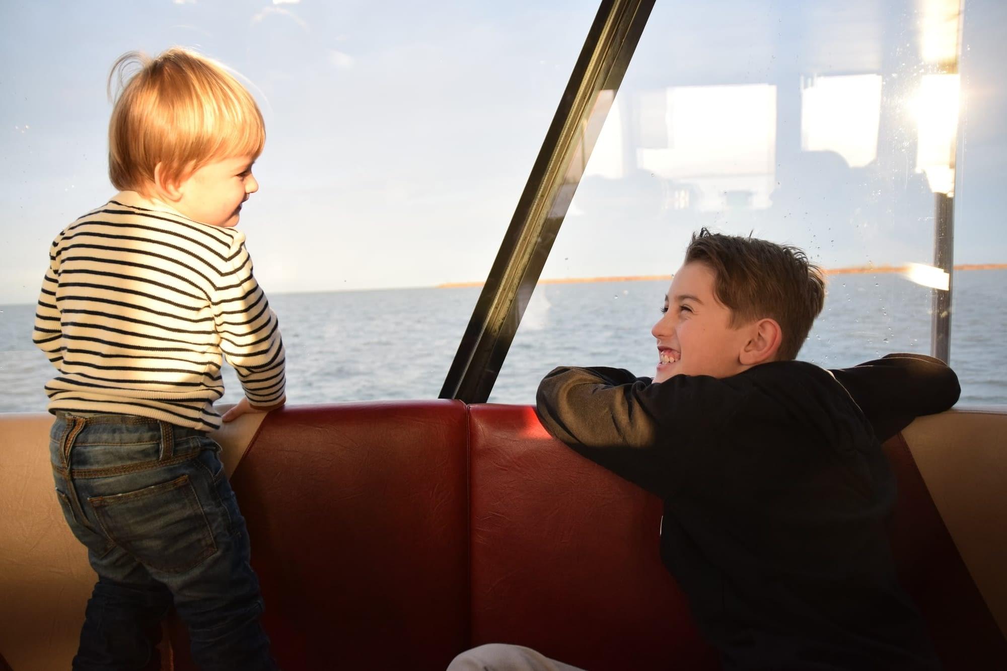 veerboot enkhuizen met kinderen