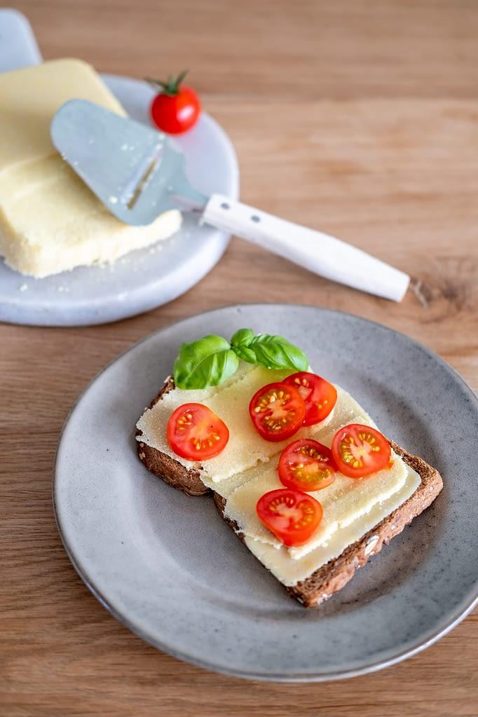 plantaardige mosterdkaas zelfgemaakt