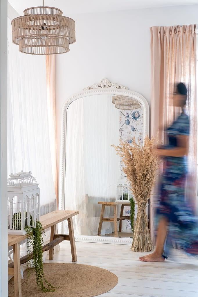 pastel roze slaapkamer