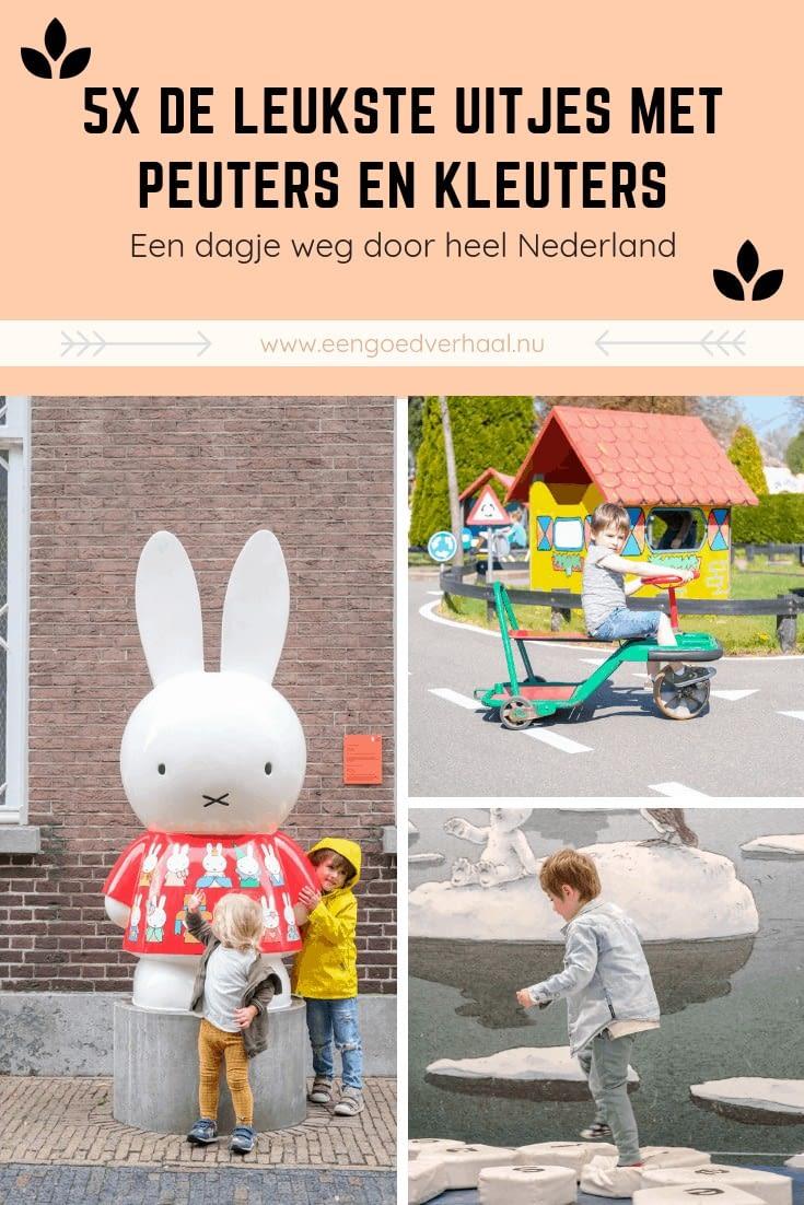 uitjes met peuters en kleuters in Nederland