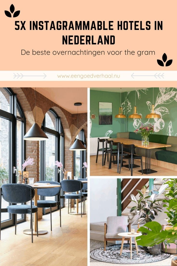 tips instagrammable hotels in nederland