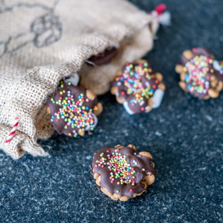 sinterklaas kruidnoten met chocolade