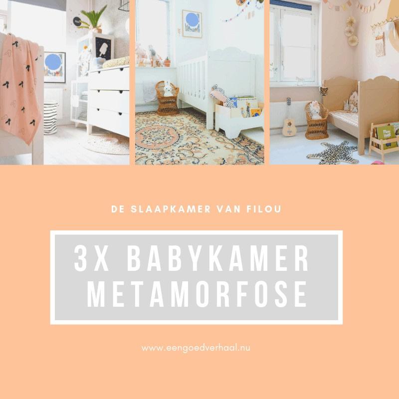 3x babykamer metamorfose